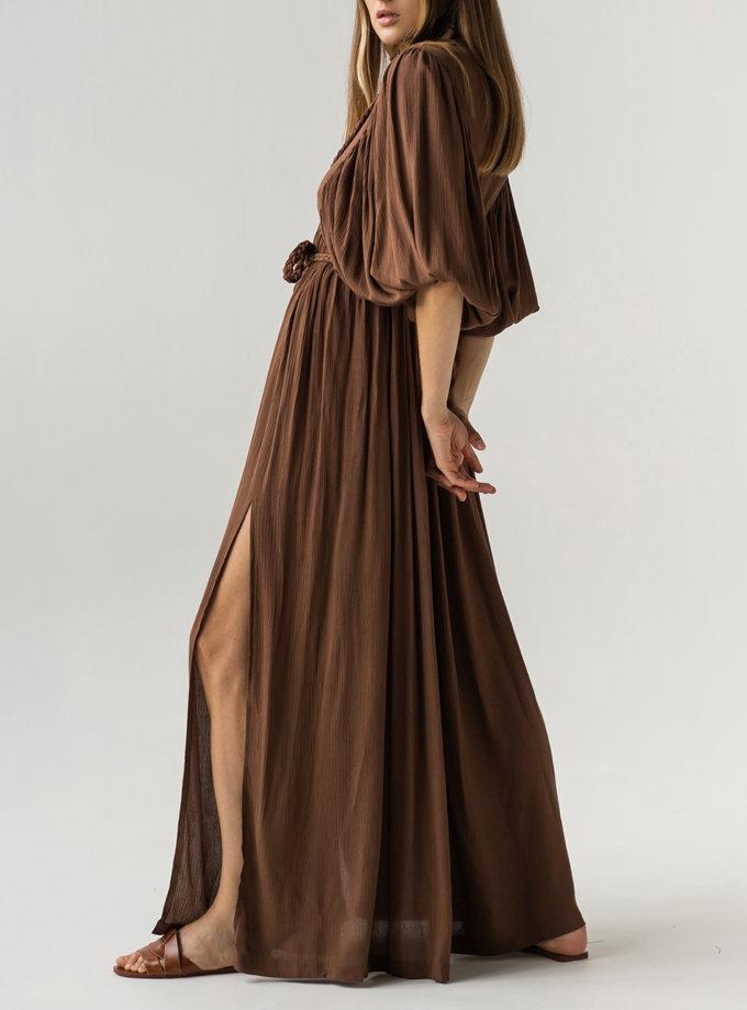 Сукня з зав'язками KLSV_AK_FW_2021_5, фото 1 - в интернет магазине KAPSULA