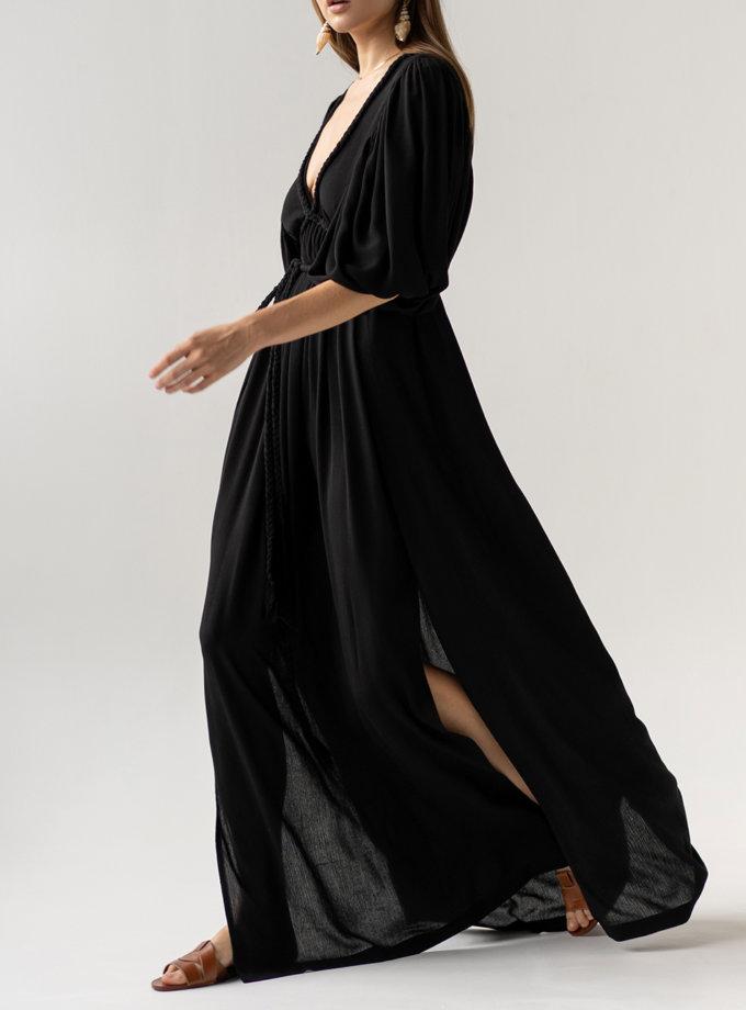 Платье с завязками KLSV_AK_FW_2021_4, фото 1 - в интернет магазине KAPSULA