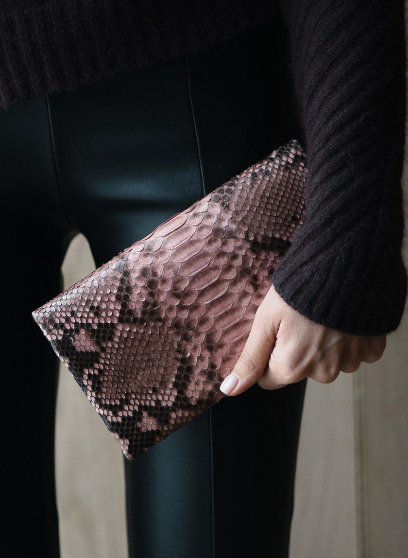 Клатч зі шкіри пітона BRND_bernardbags_0119-1, фото 1 - в интернет магазине KAPSULA