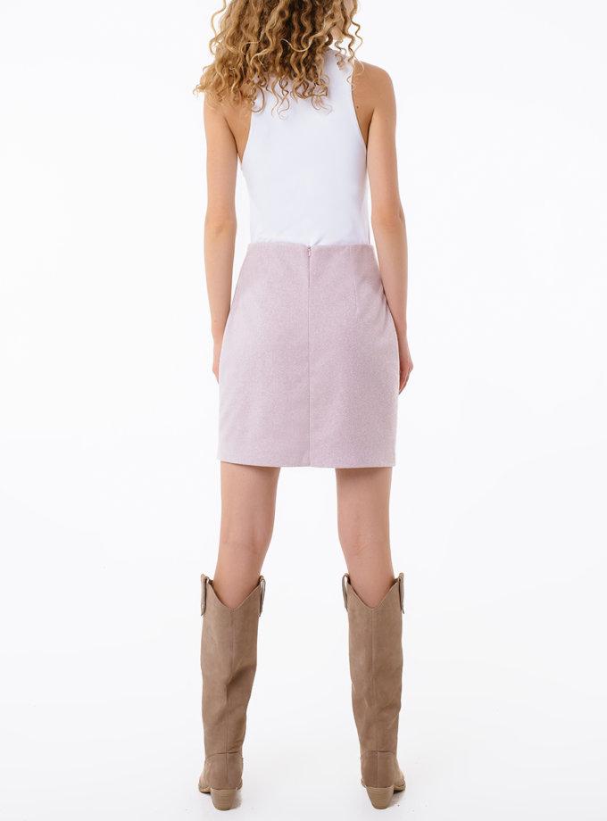 Шерстяная юбка мини MGN_1503PK, фото 1 - в интернет магазине KAPSULA