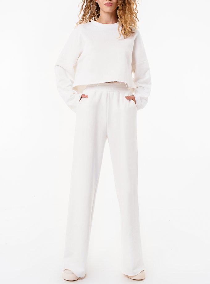 Хлопковые штаны свободного кроя MGN_1950MK, фото 1 - в интернет магазине KAPSULA
