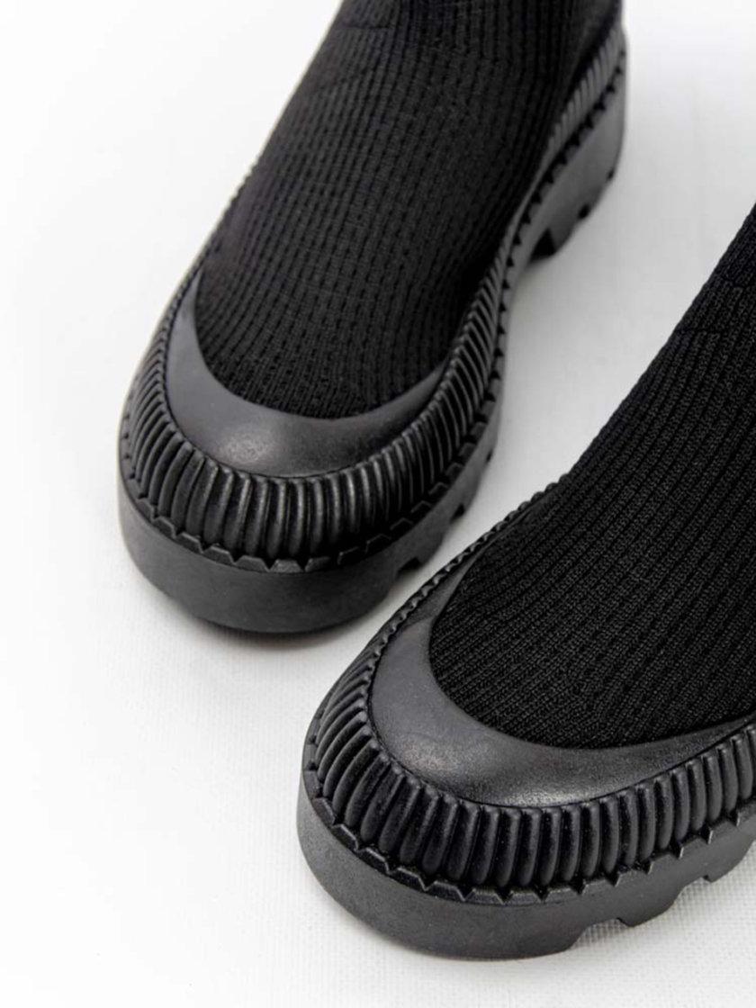 Ботинки из текстиля CRS_21-01718, фото 1 - в интернет магазине KAPSULA