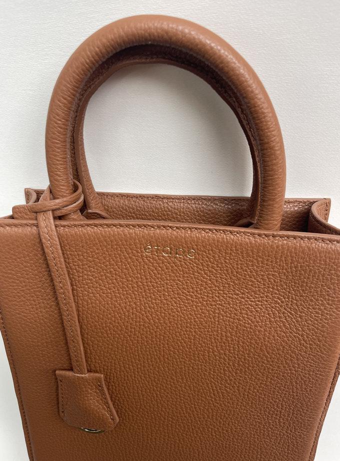 Кожаная сумка TOY MACBAG ETP_TOY-MAGBAG-CARAMEL, фото 1 - в интернет магазине KAPSULA