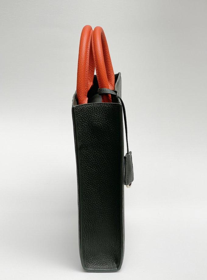 Кожаная сумка TOY MACBAG ETP_TOY-MAGBAG-KHAKI, фото 1 - в интернет магазине KAPSULA