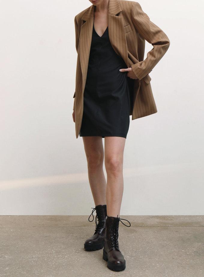 Платье мини из шерсти IRRO_IR_FW21_DM_015, фото 1 - в интернет магазине KAPSULA