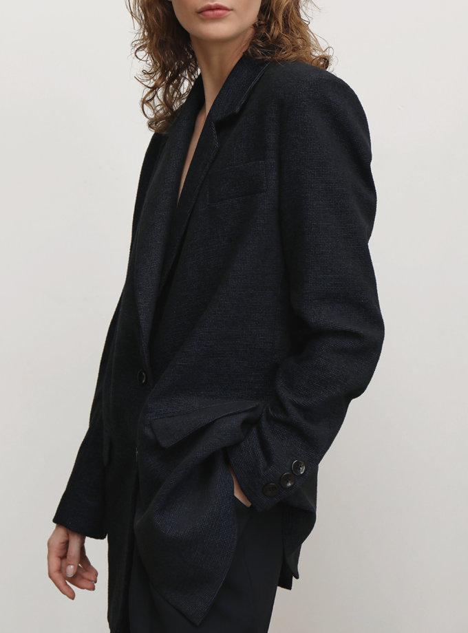 Жакет твидовый IRRO_IR_FW21_JT_002, фото 1 - в интернет магазине KAPSULA