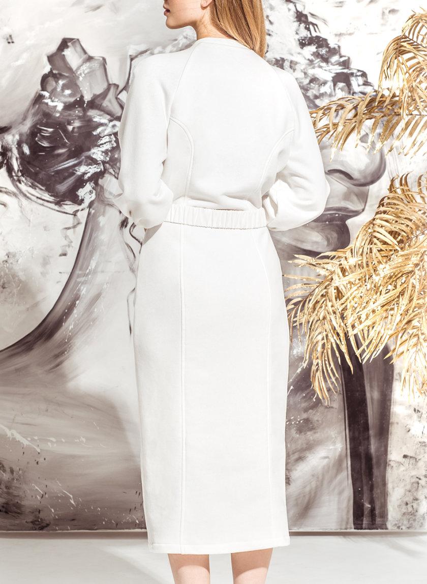 Хлопковое платье миди KS_FW25_01, фото 1 - в интернет магазине KAPSULA