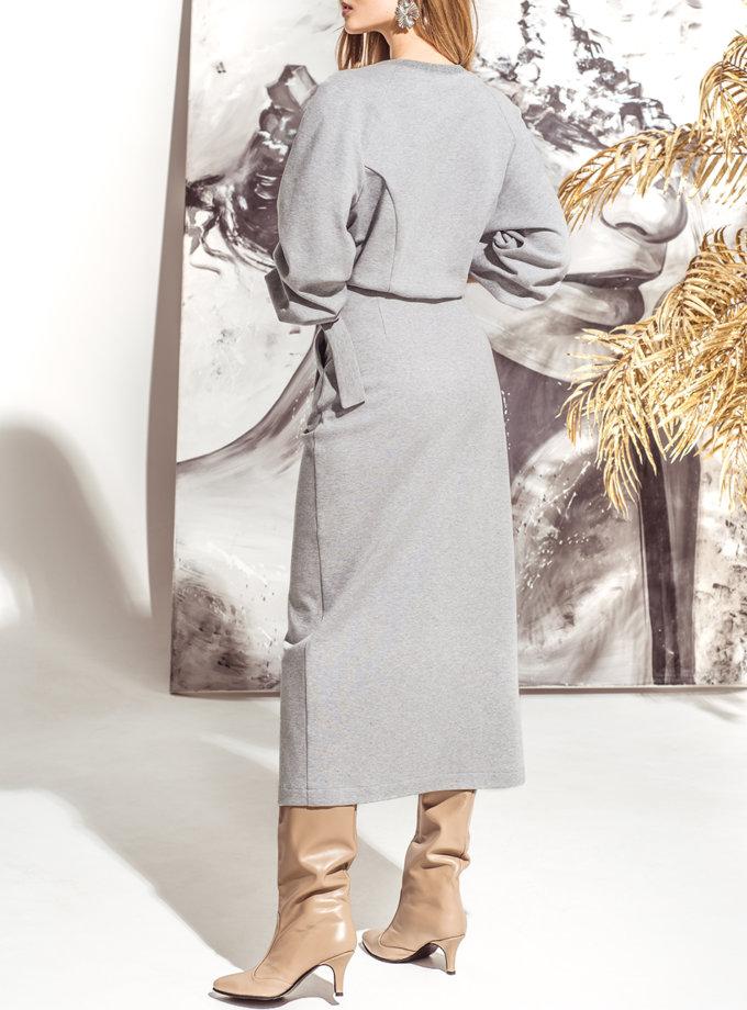 Комплект с юбкой на запах KS_FW25_04, фото 1 - в интернет магазине KAPSULA