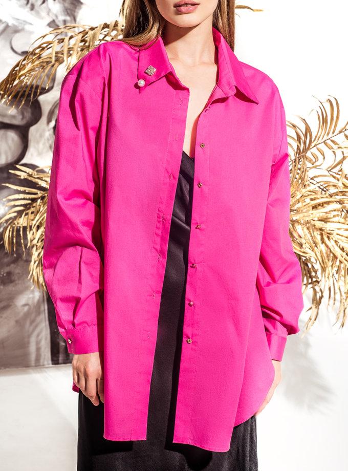 Хлопковая рубашка oversize KS_FW25_11, фото 1 - в интернет магазине KAPSULA
