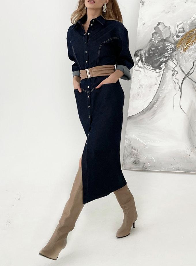 Джинсовое платье KS_FW25_20, фото 1 - в интернет магазине KAPSULA