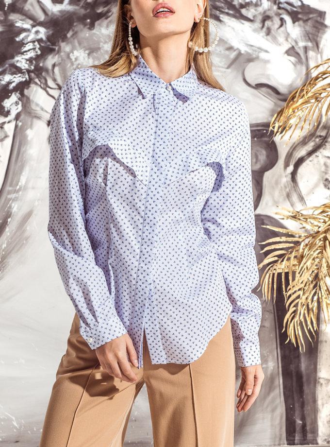 Бавовняна сорочка Roze KS_FW25_28, фото 1 - в интернет магазине KAPSULA
