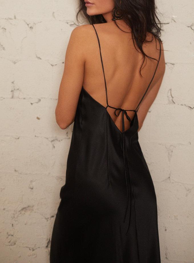 Шелковое платье-комбинация STR_L202400604, фото 1 - в интернет магазине KAPSULA