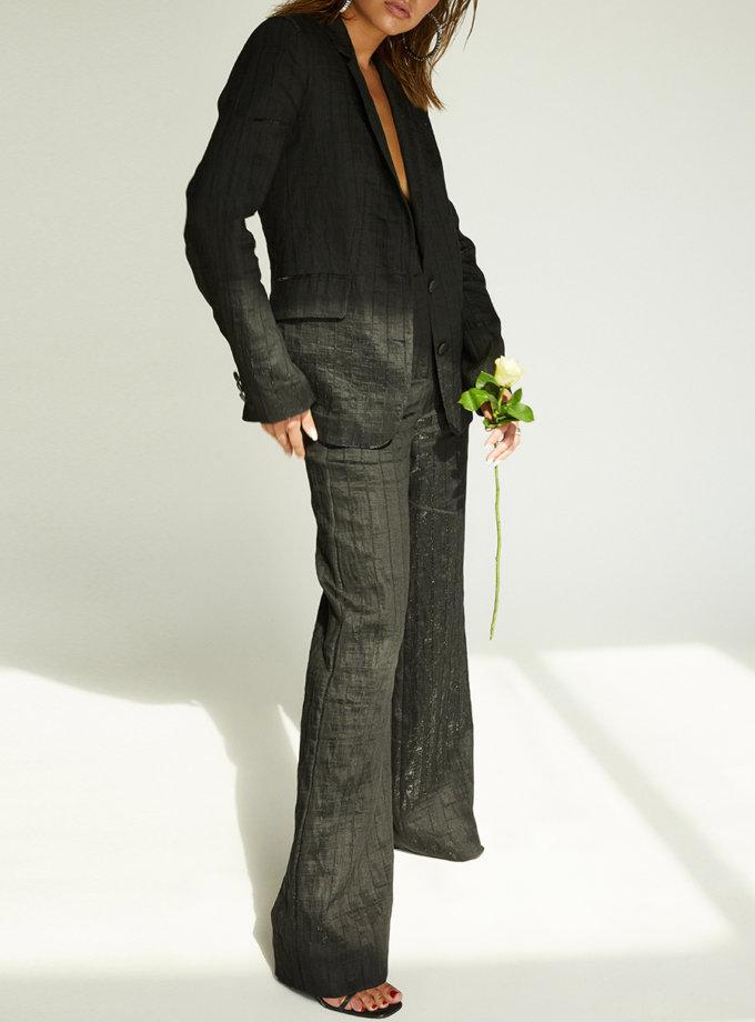 Лляний костюм з брюками STR_L20F006F0120485, фото 1 - в интернет магазине KAPSULA