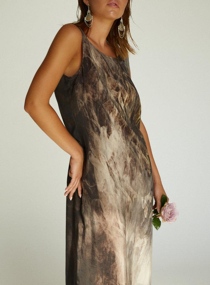 Шовкова сукня STR_L20F0350493, фото 1 - в интернет магазине KAPSULA