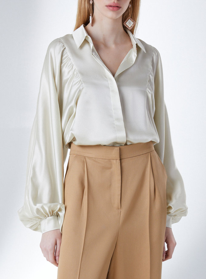 Шовкова блуза STR_L20F0380562, фото 1 - в интернет магазине KAPSULA