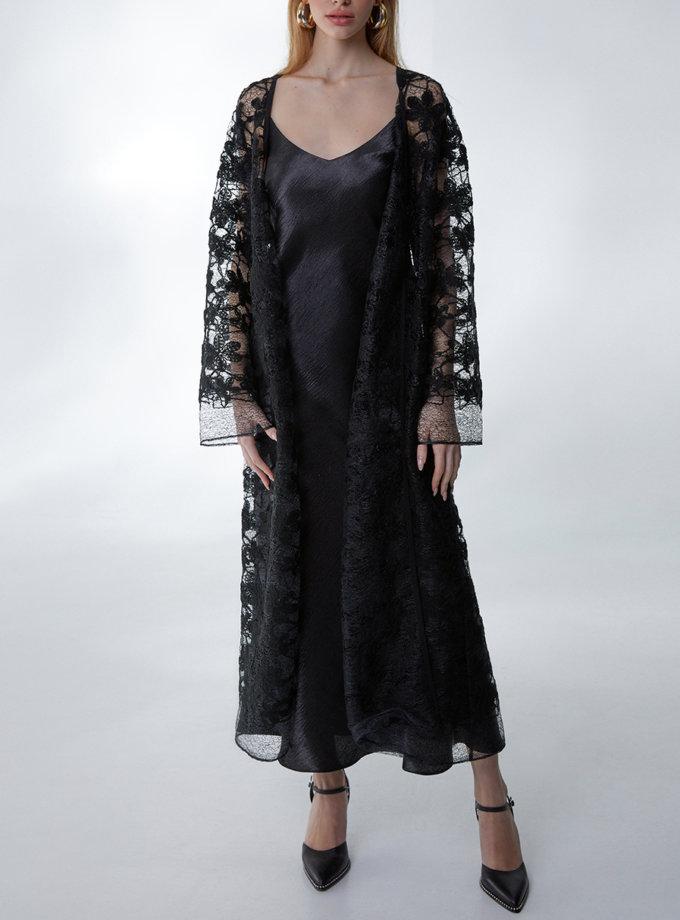 Платье с кружевной  накидкой STR_L20F0640566, фото 1 - в интернет магазине KAPSULA