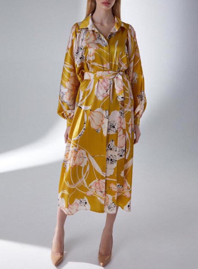 Шелковое платье  Лилии STR_L20F0650568, фото 1 - в интернет магазине KAPSULA