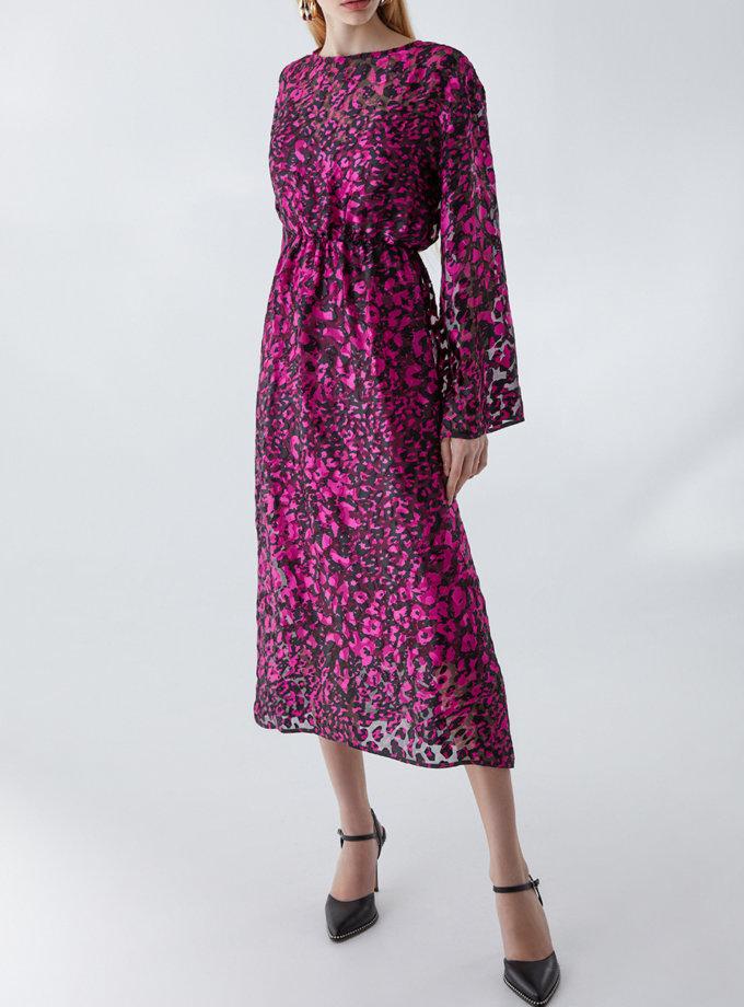 Шелковое платье  Модильяни STR_L20F0720569, фото 1 - в интернет магазине KAPSULA
