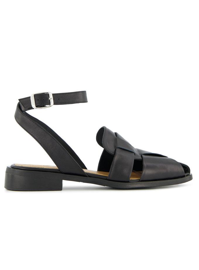 Шкіряні сандалі Gladi LA_GLADI_BL, фото 1 - в интернет магазине KAPSULA