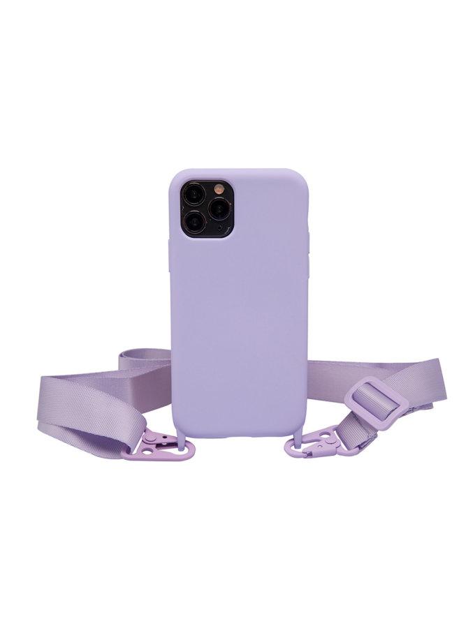 Чехол на ремешке Lilac для iPhone NKR_NCRB_12_LI, фото 1 - в интернет магазине KAPSULA