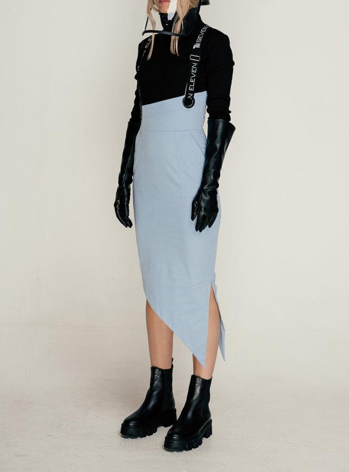 Асиметрична спідниця SE_SE21-Sk-Dille-Bl, фото 1 - в интернет магазине KAPSULA