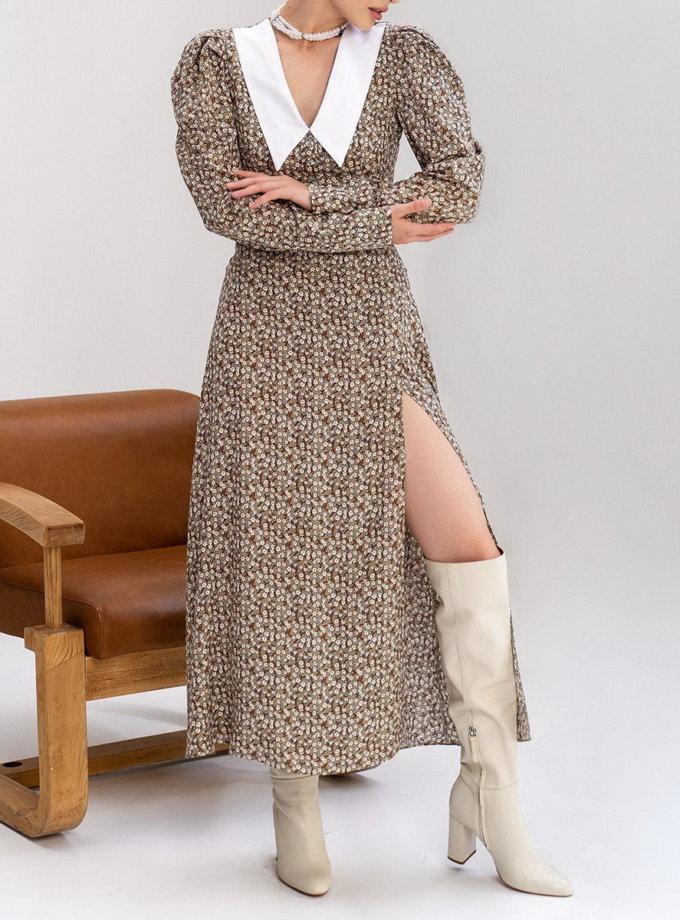 Сукня Tereza з комірцем MC_0422-1, фото 1 - в интернет магазине KAPSULA
