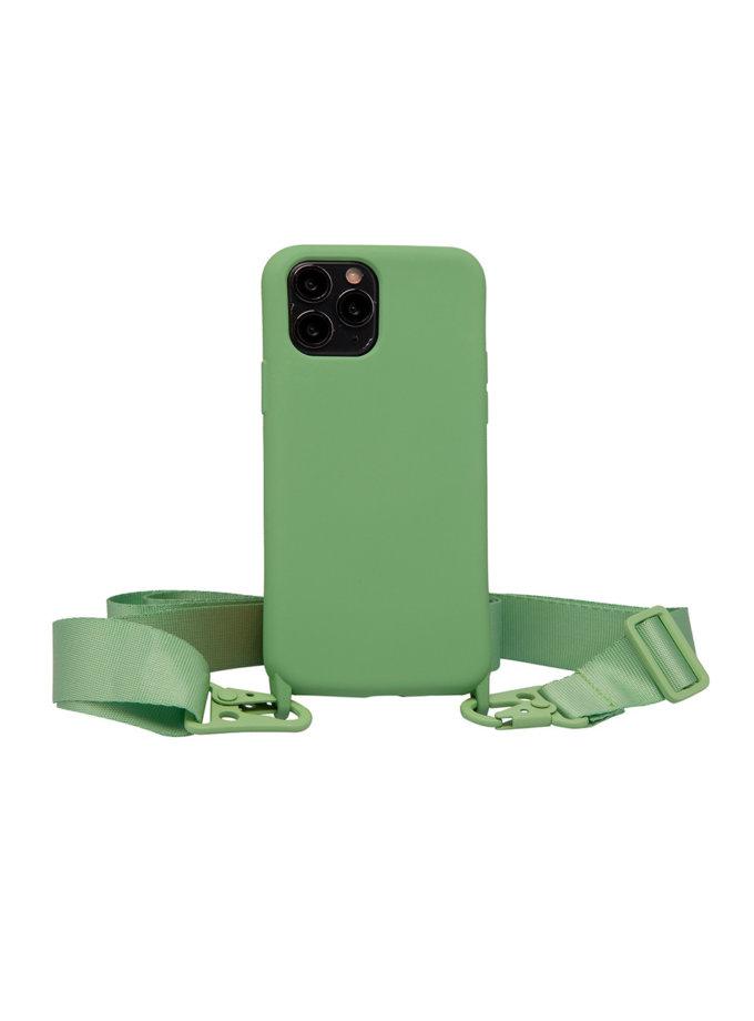 Чохол з ремінцем Matcha для iPhone NKR_NCRB_12_MA, фото 1 - в интернет магазине KAPSULA