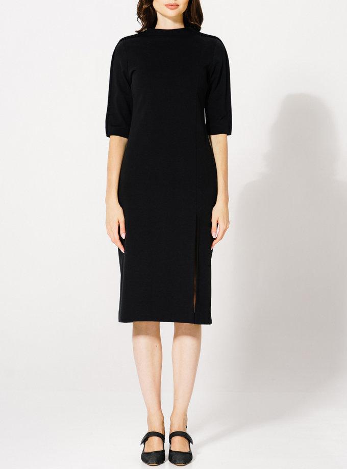Платье из хлопка KLNA_Renata_black, фото 1 - в интернет магазине KAPSULA