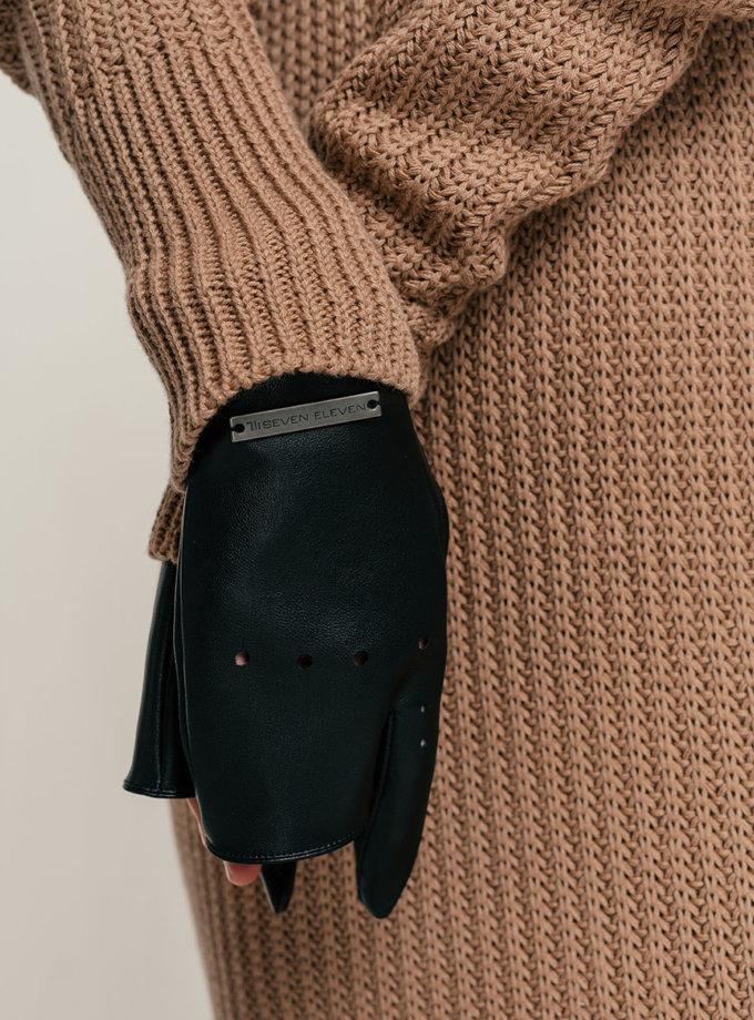 Рукавички без пальців Myrta SE_SE21-Gl-Myrta-B, фото 1 - в интернет магазине KAPSULA