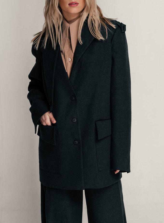 Жакет прямого кроя SE_SE21-Jc-Lamia-G, фото 1 - в интернет магазине KAPSULA