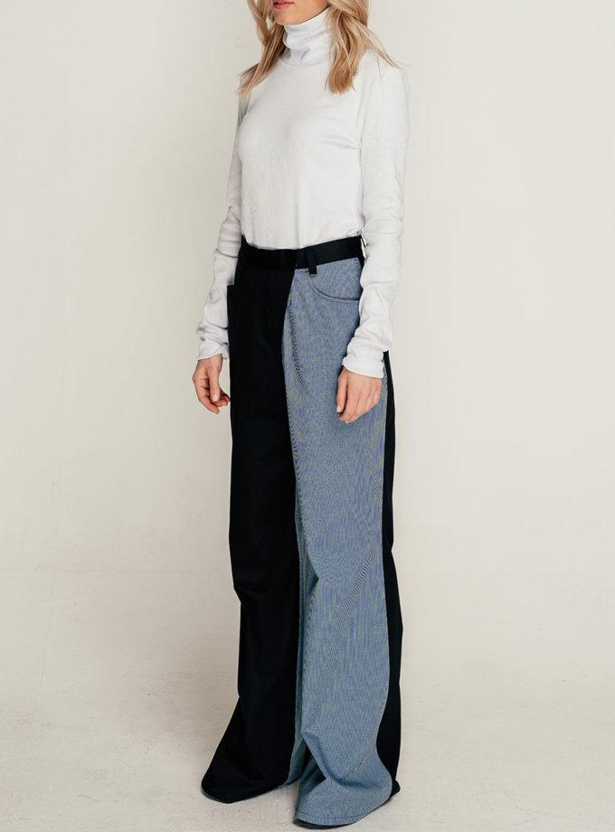 Бавовняні штани кльош SE_SE21-Pn-Magnoli-BBl, фото 1 - в интернет магазине KAPSULA