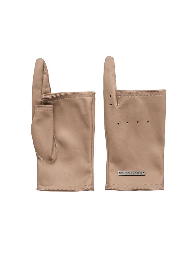 Рукавички без пальців Myrta SE_SE21-Gl-Myrta-Bg, фото 1 - в интернет магазине KAPSULA