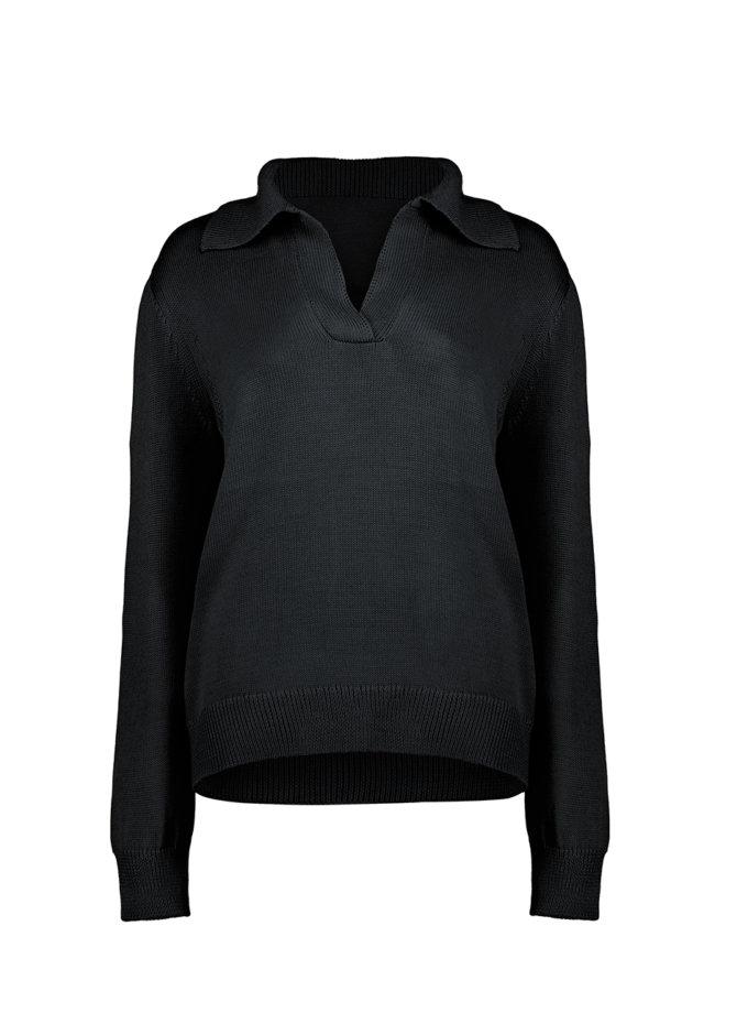 Джемпер ALISON black з вовни SYI_CS_18429-kapsula, фото 1 - в интернет магазине KAPSULA