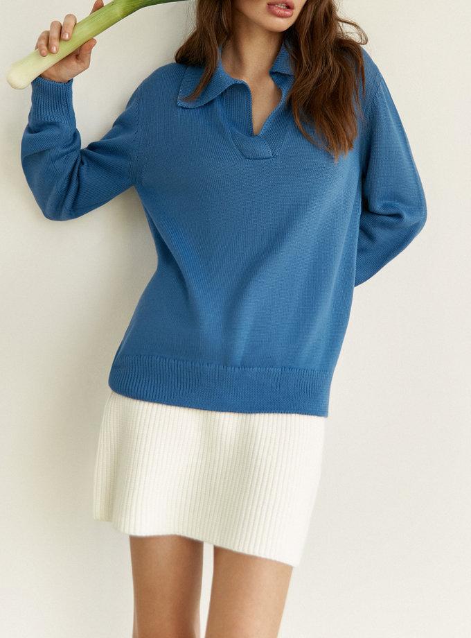 Джемпер ALISON blue з вовни SYI_CS_18432-kapsula, фото 1 - в интернет магазине KAPSULA