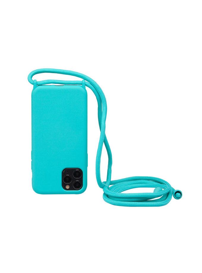 Чехол на шнуре Tiffany для iPhone NKR_NCRR_12_TI, фото 1 - в интернет магазине KAPSULA