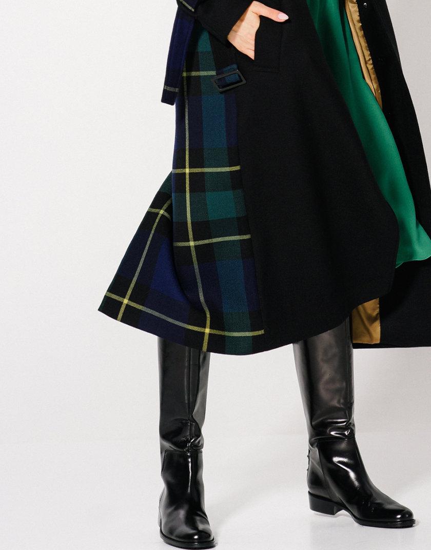 Пальто из шерсти со шлицей KLNA_Trench, фото 1 - в интернет магазине KAPSULA