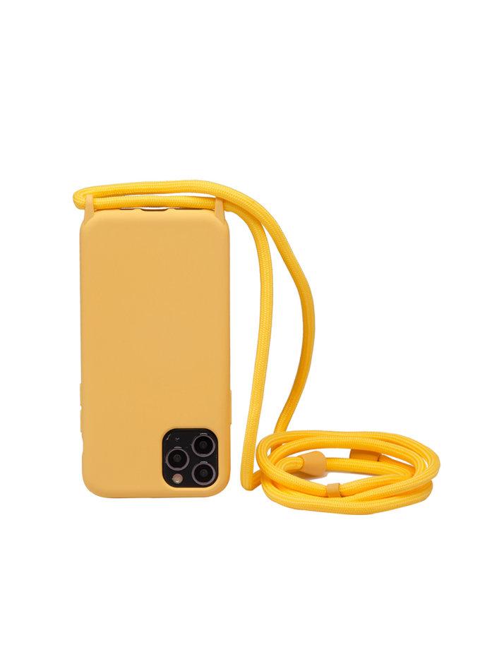 Чехол на шнуре Yellow Sea для iPhone NKR_NCRR_12_YS, фото 1 - в интернет магазине KAPSULA
