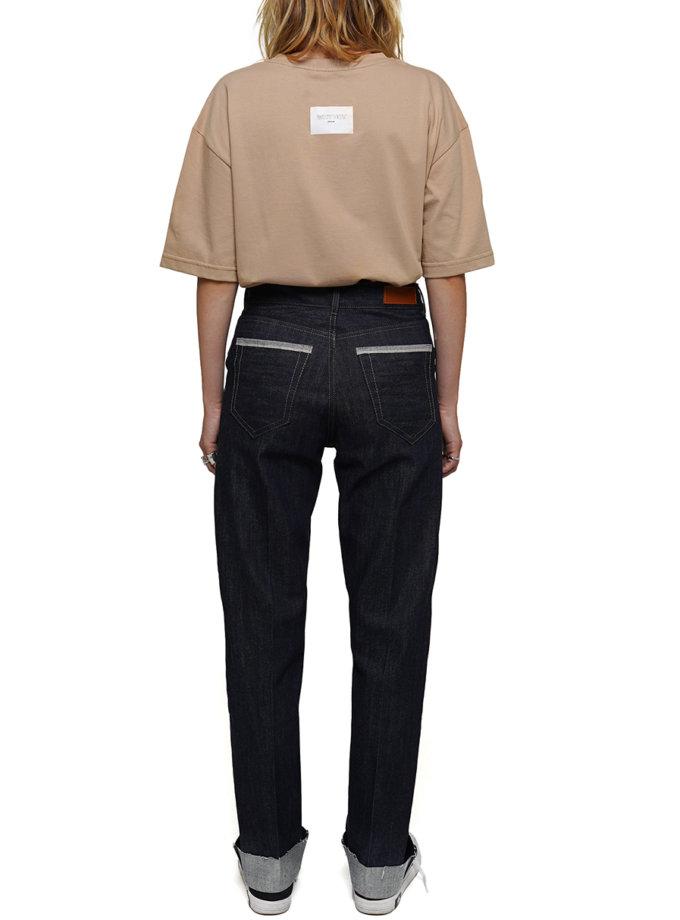 Джинсові штани з бавовни WNDM_aut21-jnsl-darkblue, фото 1 - в интернет магазине KAPSULA