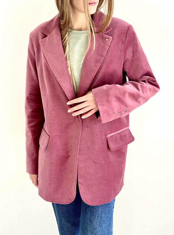 Жакет прямого кроя IAM_01VLR04, фото 1 - в интернет магазине KAPSULA