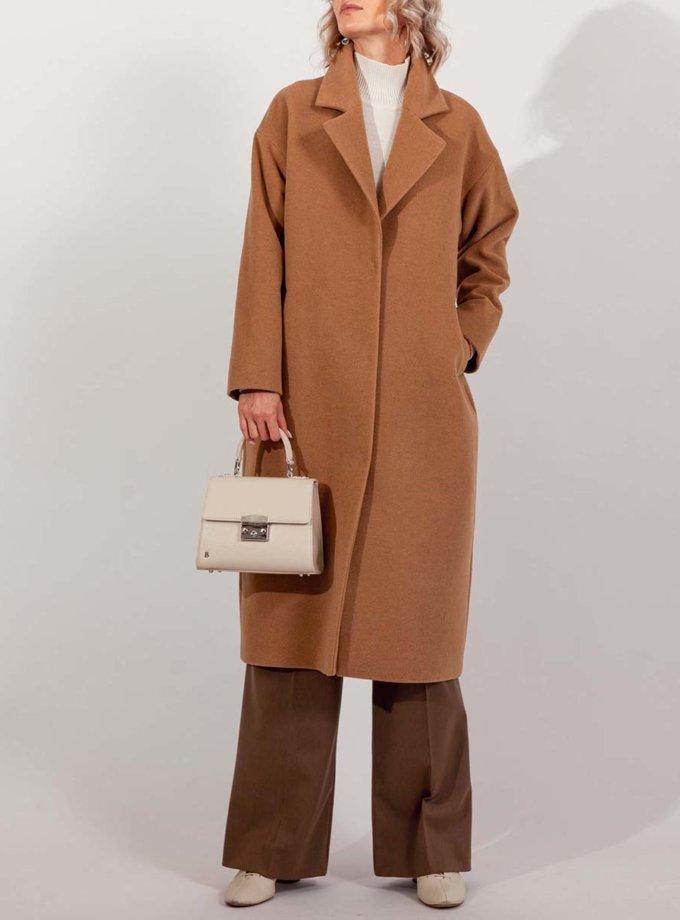 Пальто з вовни MMT_093_camel-1, фото 1 - в интернет магазине KAPSULA