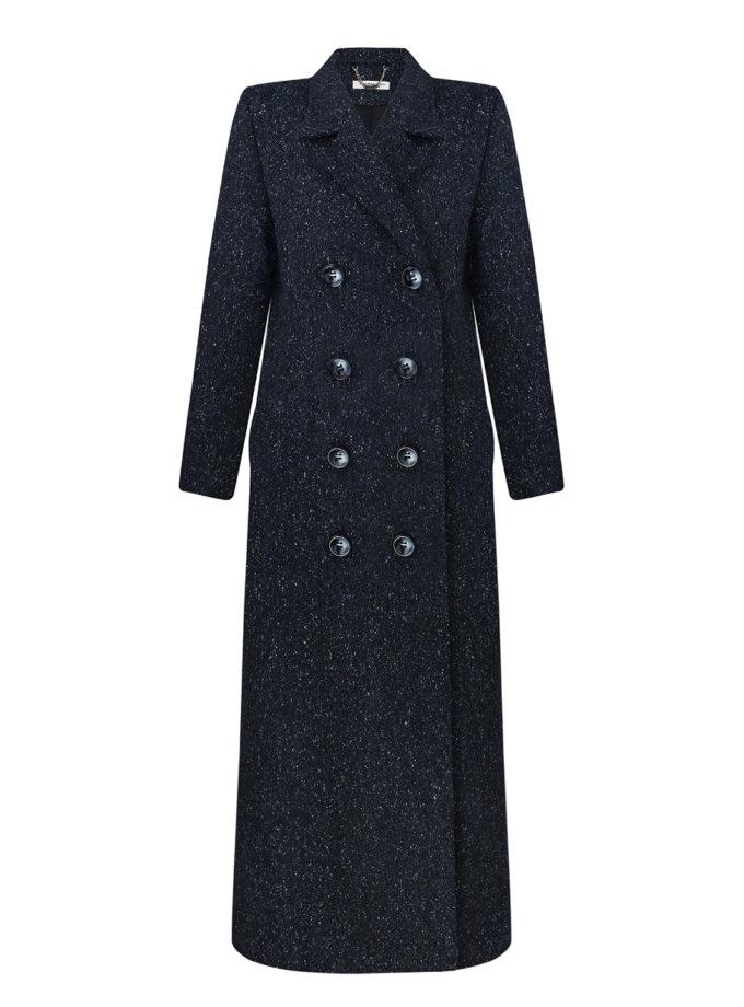 Пальто двубортное NOMA_172021, фото 1 - в интернет магазине KAPSULA