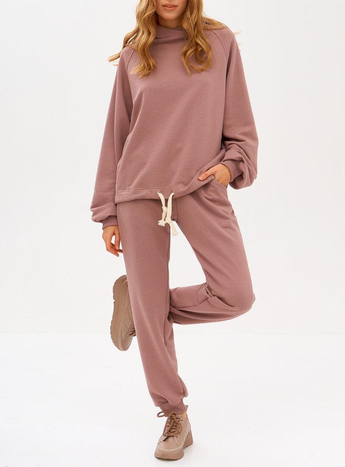 Худи из хлопка SNDR_FWN21-pink, фото 1 - в интернет магазине KAPSULA