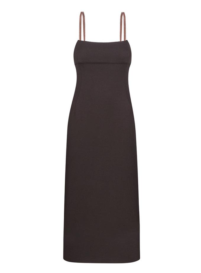 Платье-футляр из хлопка NOMA_92021, фото 1 - в интернет магазине KAPSULA