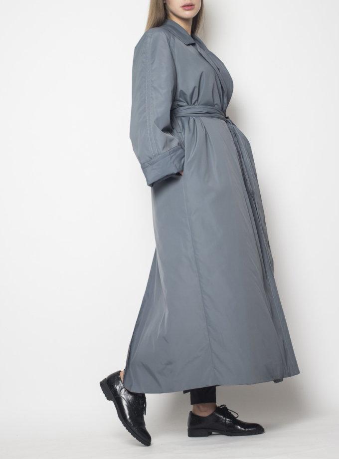 Пальто миди с поясом ZOLA_coat-1, фото 1 - в интернет магазине KAPSULA