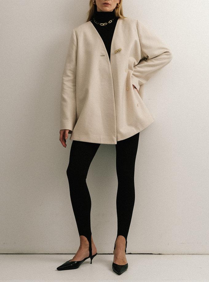 Пальто-кімоно з вовни NOMA_182021, фото 1 - в интернет магазине KAPSULA