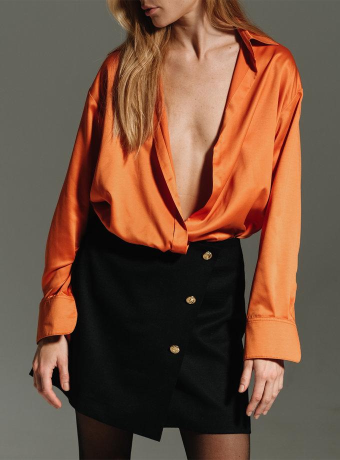 Блуза свободного кроя NOMA_102021, фото 1 - в интернет магазине KAPSULA