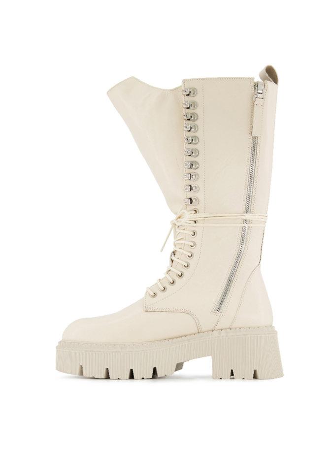 Ботинки на шнуровке Lara Milk MRSL_192101, фото 1 - в интернет магазине KAPSULA