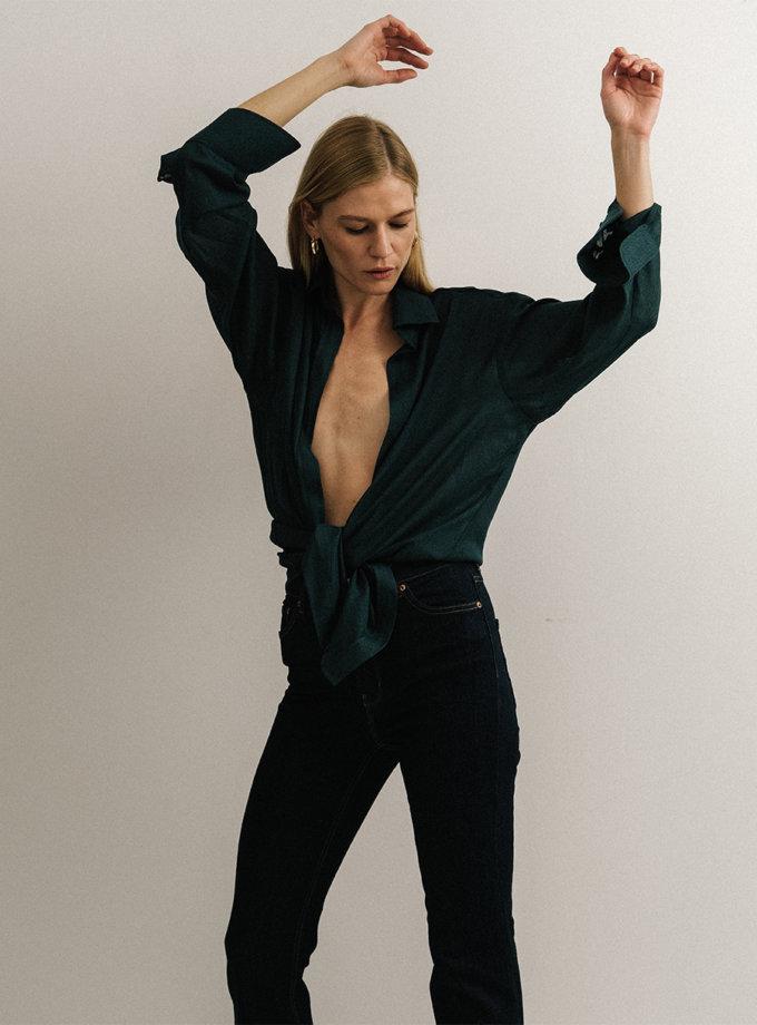 Блуза свободного кроя NOMA_112021, фото 1 - в интернет магазине KAPSULA