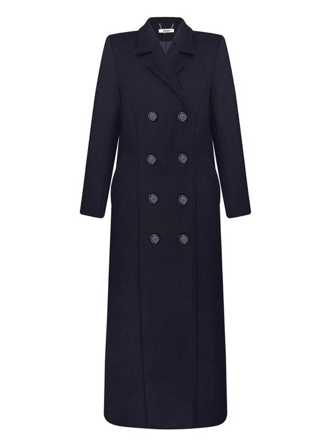 Пальто двубортное NOMA_162021, фото 1 - в интернет магазине KAPSULA