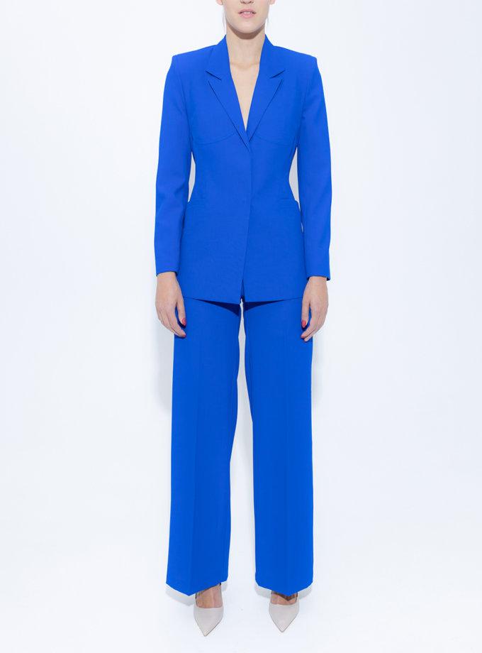 Широкие брюки из шерсти SLR_FW_22_7, фото 1 - в интернет магазине KAPSULA